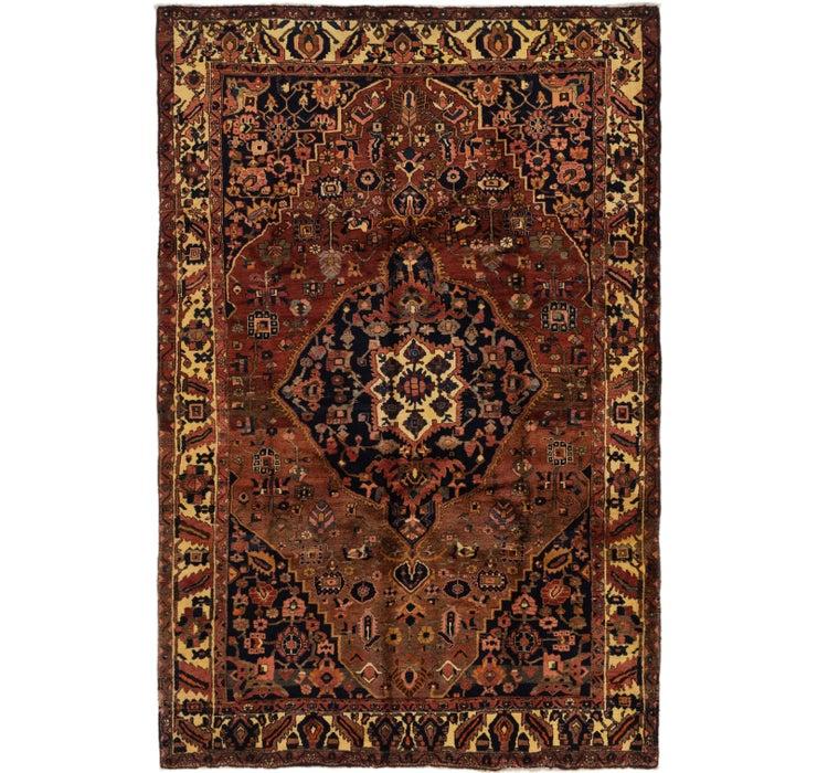 213cm x 323cm Bakhtiar Persian Rug