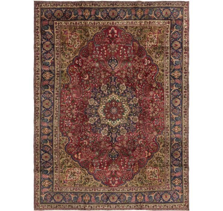 285cm x 395cm Mashad Persian Rug