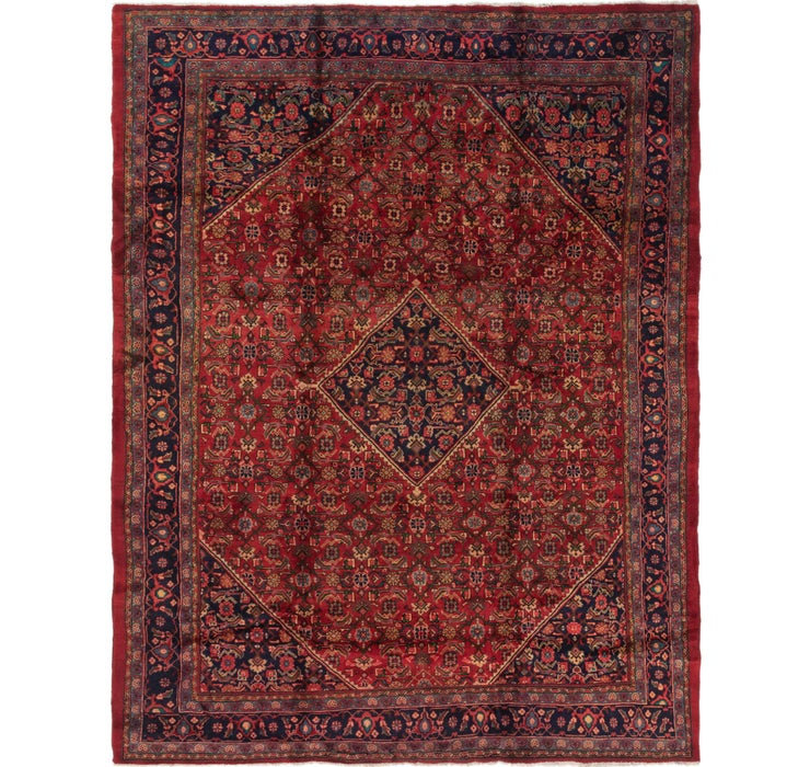 9' 10 x 12' 8 Farahan Persian Rug