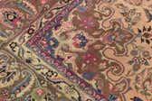 9' 6 x 10' Mashad Persian Square Rug thumbnail
