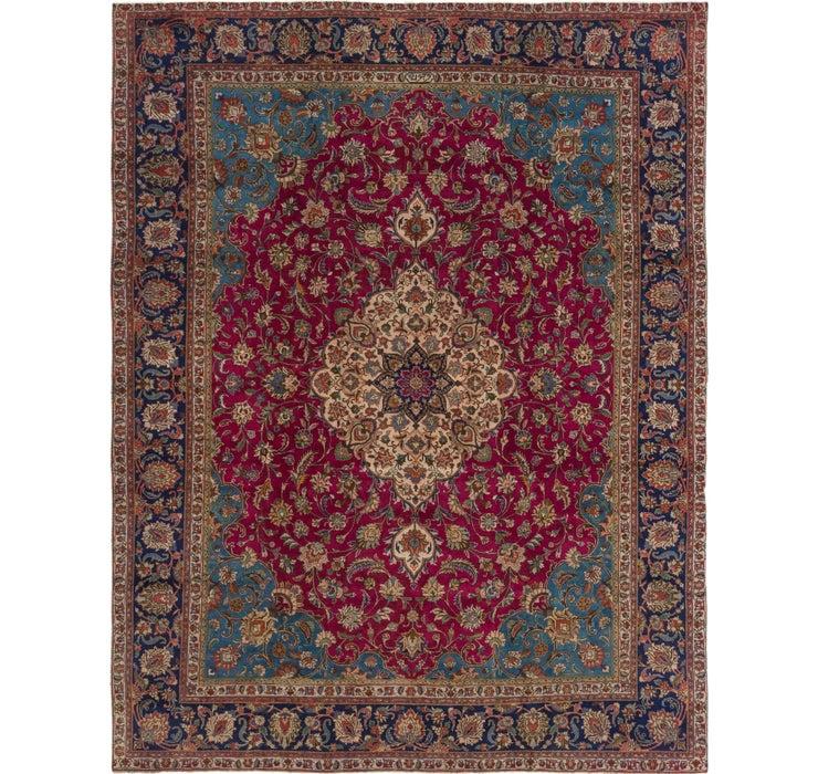 9' 6 x 12' 6 Tabriz Persian Rug