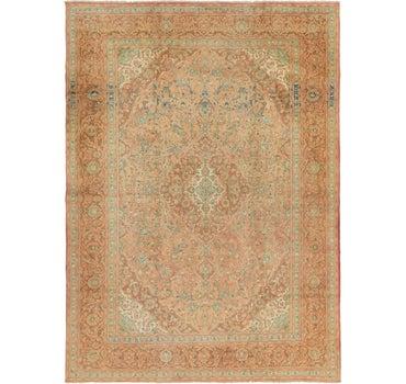 9' 6 x 13' 3 Kashan Persian Rug main image