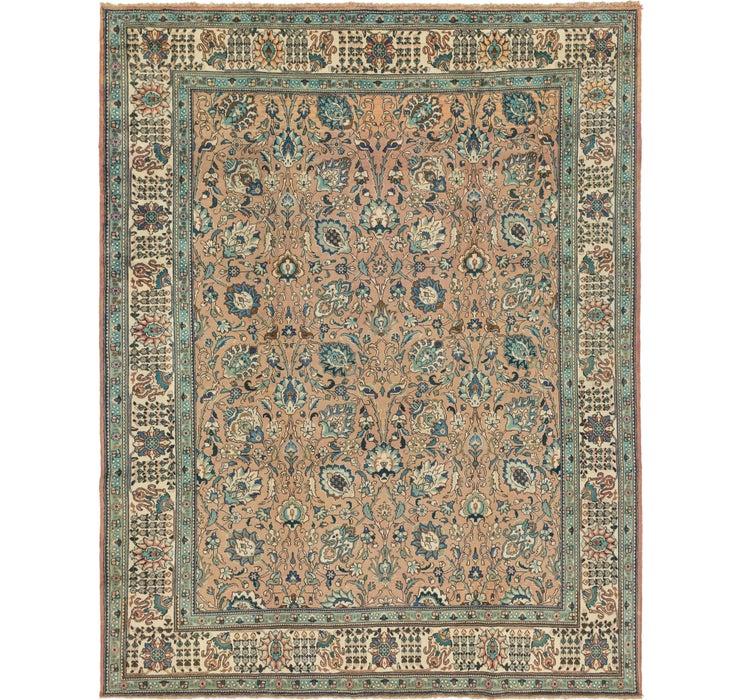 310cm x 395cm Tabriz Persian Rug