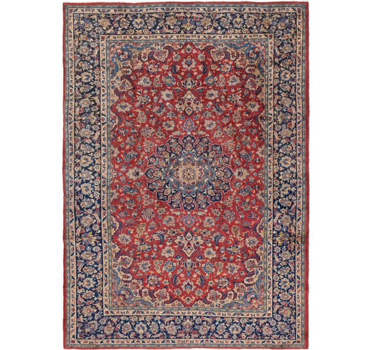 8' x 11' 9 Isfahan Persian Rug