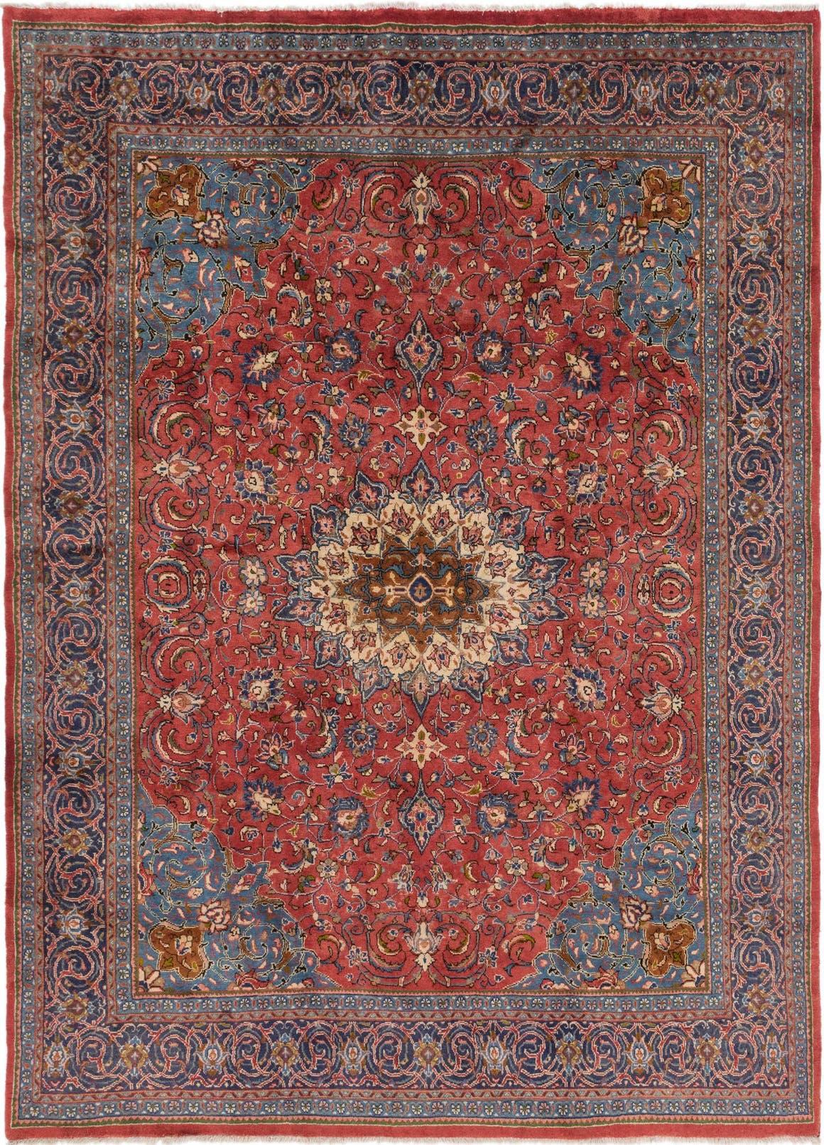 9' 6 x 13' Farahan Persian Rug main image
