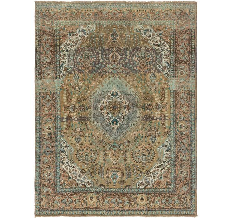267cm x 350cm Tabriz Persian Rug