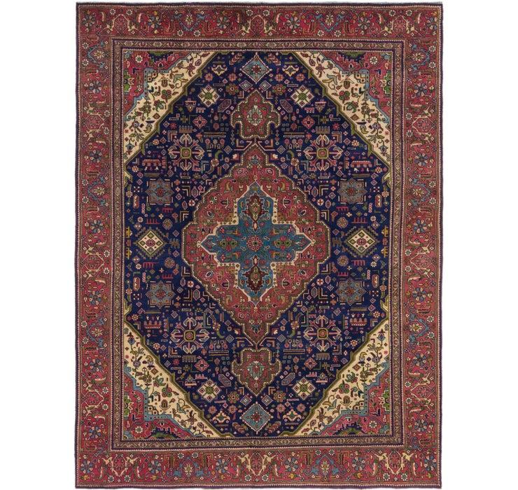 7' 10 x 10' 5 Tabriz Persian Rug