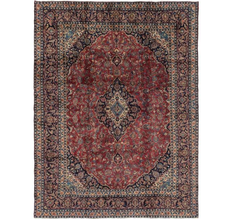 275cm x 375cm Mashad Persian Rug