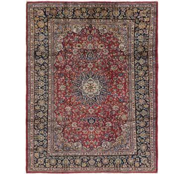 Image of 9' 5 x 12' 10 Isfahan Persian Rug
