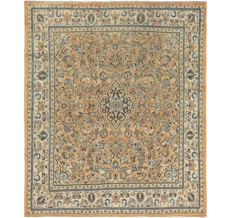 312cm x 373cm Meshkabad Persian Rug