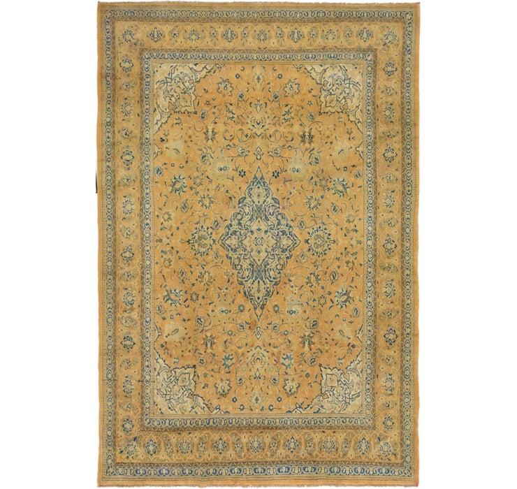 267cm x 395cm Kashan Persian Rug