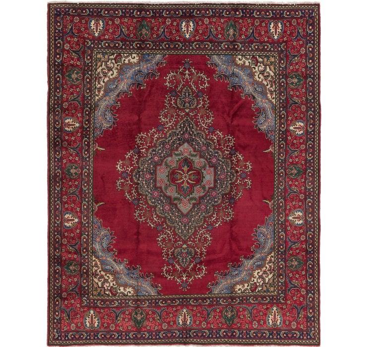 10' x 12' Tabriz Persian Rug