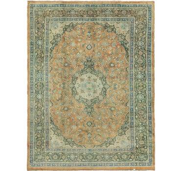 9' 10 x 13' Mashad Persian Rug main image