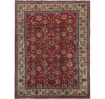 Image of 9' 7 x 12' 9 Tabriz Persian Rug