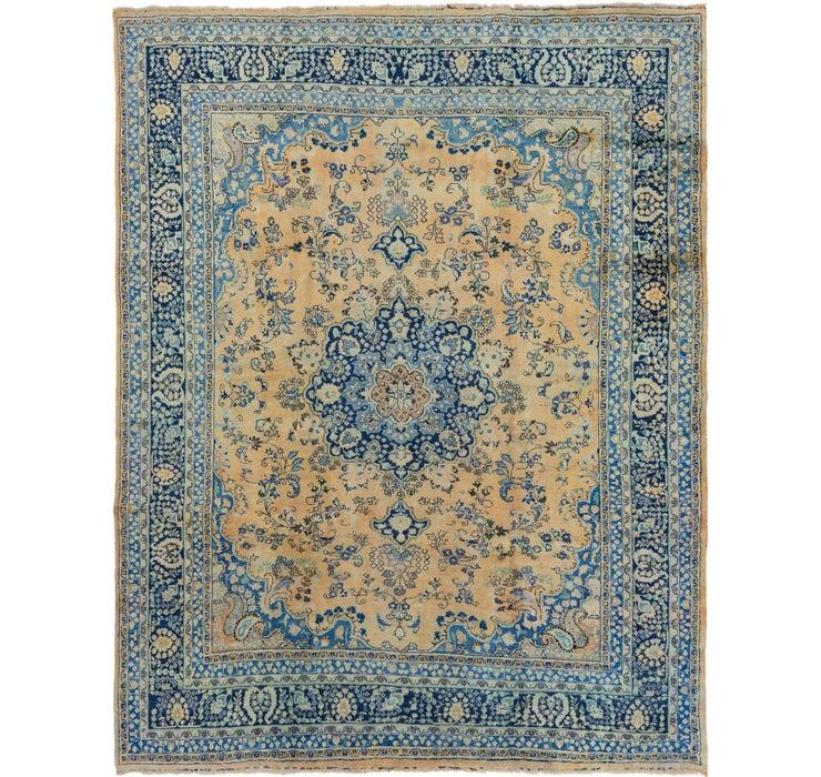 300cm x 375cm Mashad Persian Rug