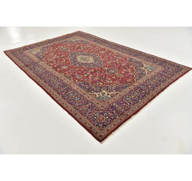6' 8 x 9' 10 Kashan Persian Rug