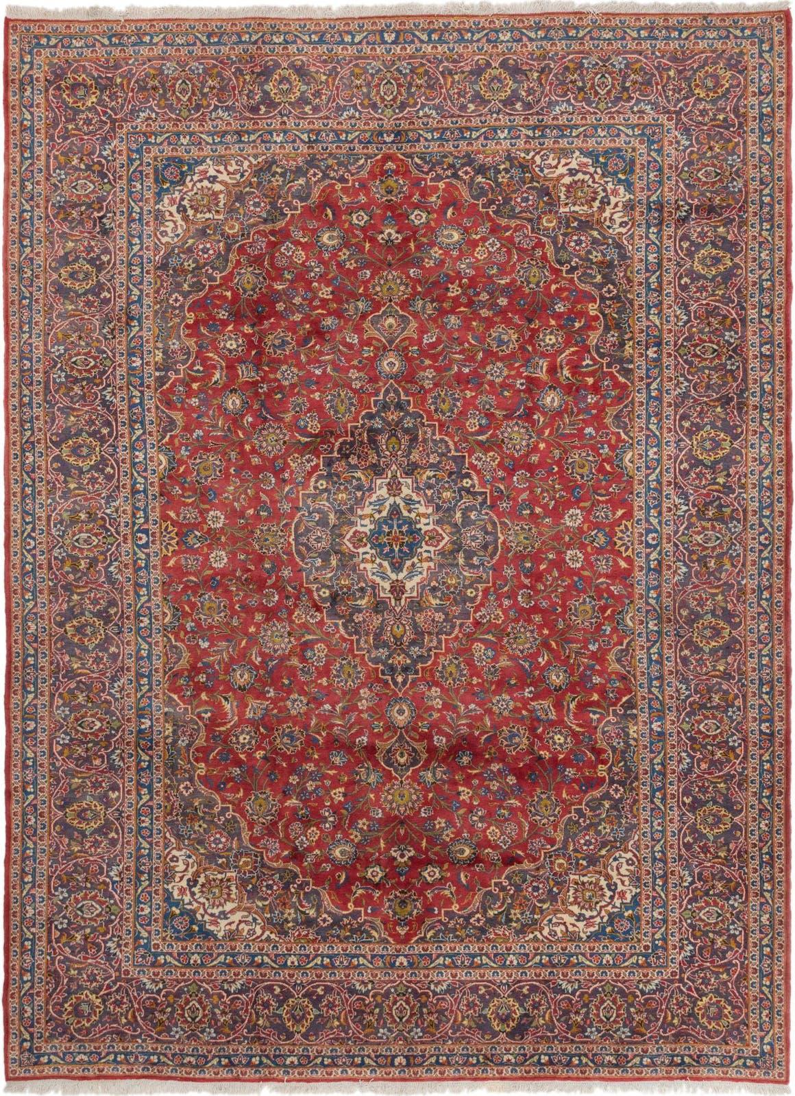 9' 5 x 12' 8 Kashan Persian Rug main image