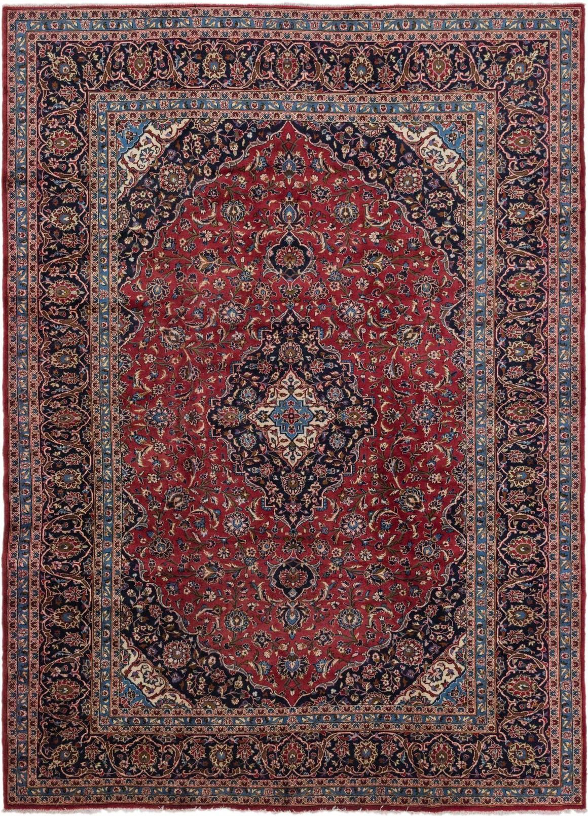 9' 9 x 13' 3 Kashan Persian Rug main image