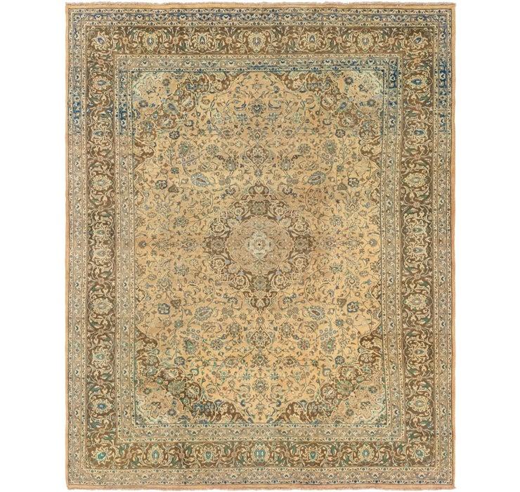 292cm x 380cm Mashad Persian Rug