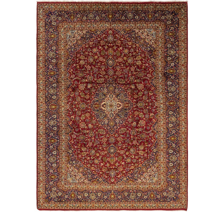 297cm x 410cm Kashan Persian Rug