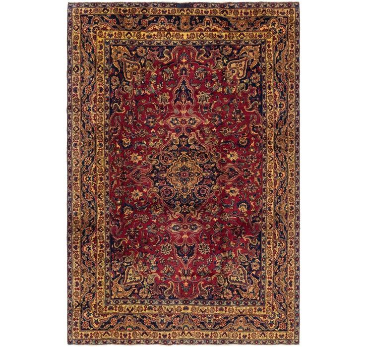 7' 9 x 11' 7 Mashad Persian Rug