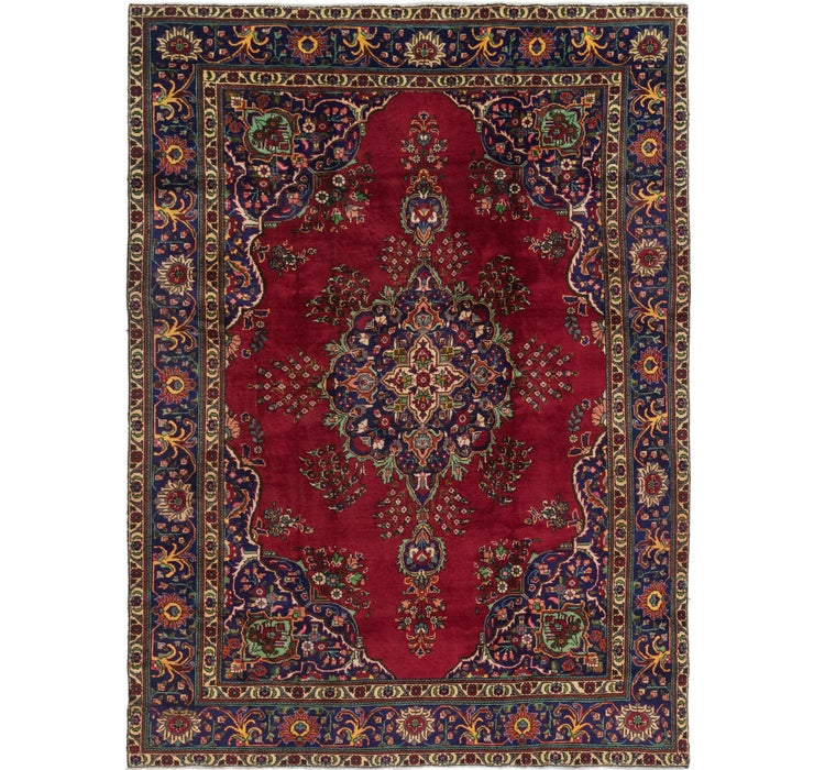 8' 2 x 11' 8 Tabriz Persian Rug
