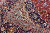 9' 7 x 14' 2 Kashan Persian Rug thumbnail