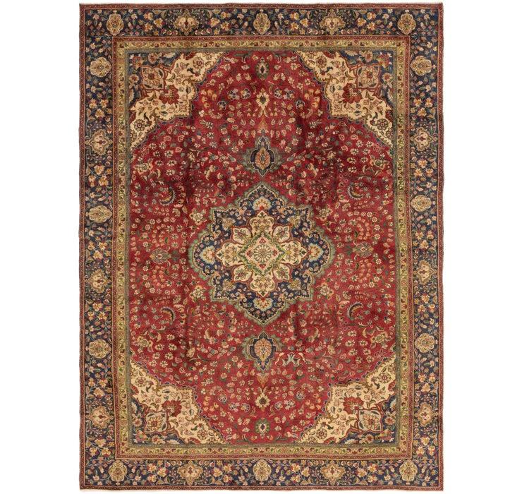 267cm x 365cm Tabriz Persian Rug