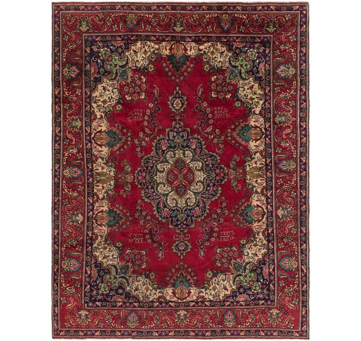282cm x 380cm Tabriz Persian Rug