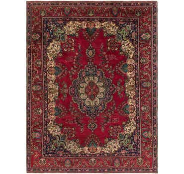 Image of 9' 3 x 12' 6 Tabriz Persian Rug