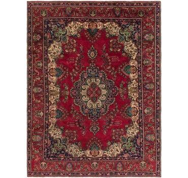 9' 3 x 12' 6 Tabriz Persian Rug main image
