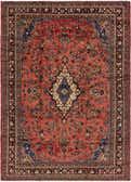 10' x 14' Hamedan Persian Rug thumbnail