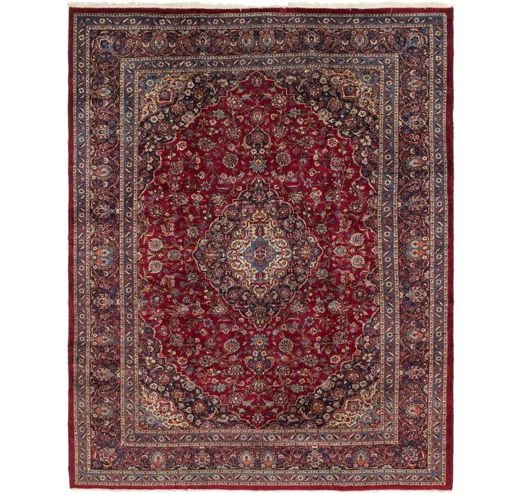 305cm x 373cm Mashad Persian Rug