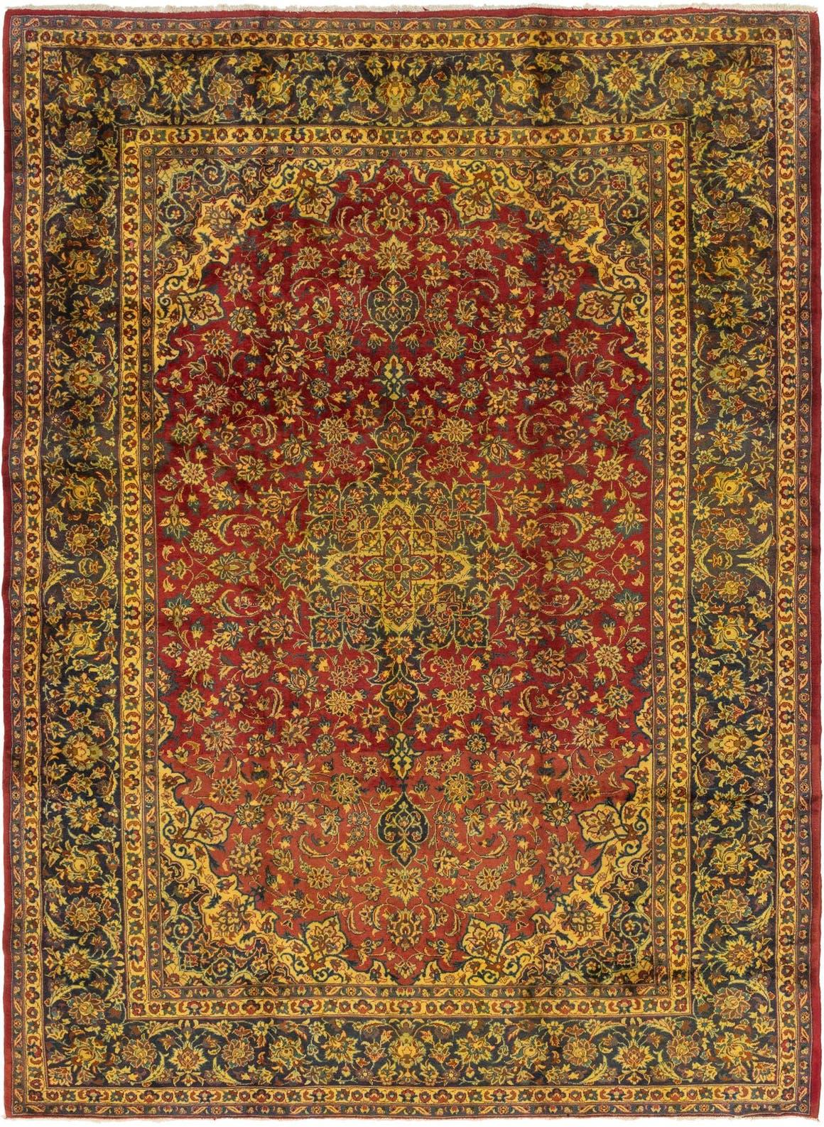 9' 7 x 13' 3 Isfahan Persian Rug main image