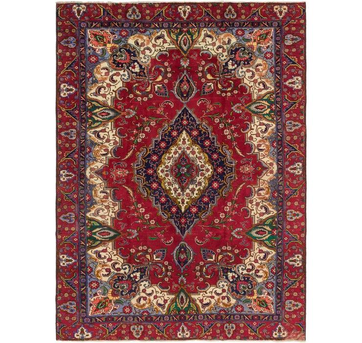 8' 7 x 11' 10 Tabriz Persian Rug
