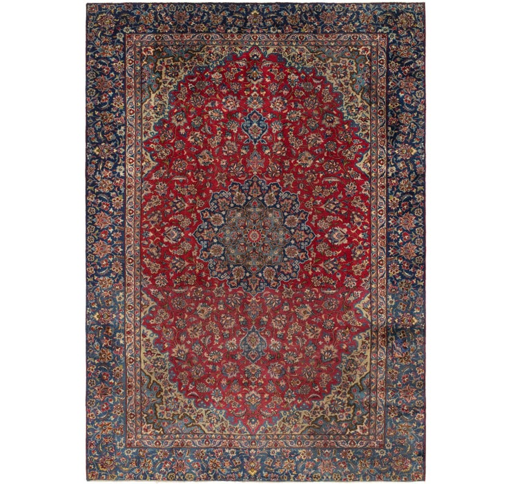 270cm x 375cm Isfahan Persian Rug