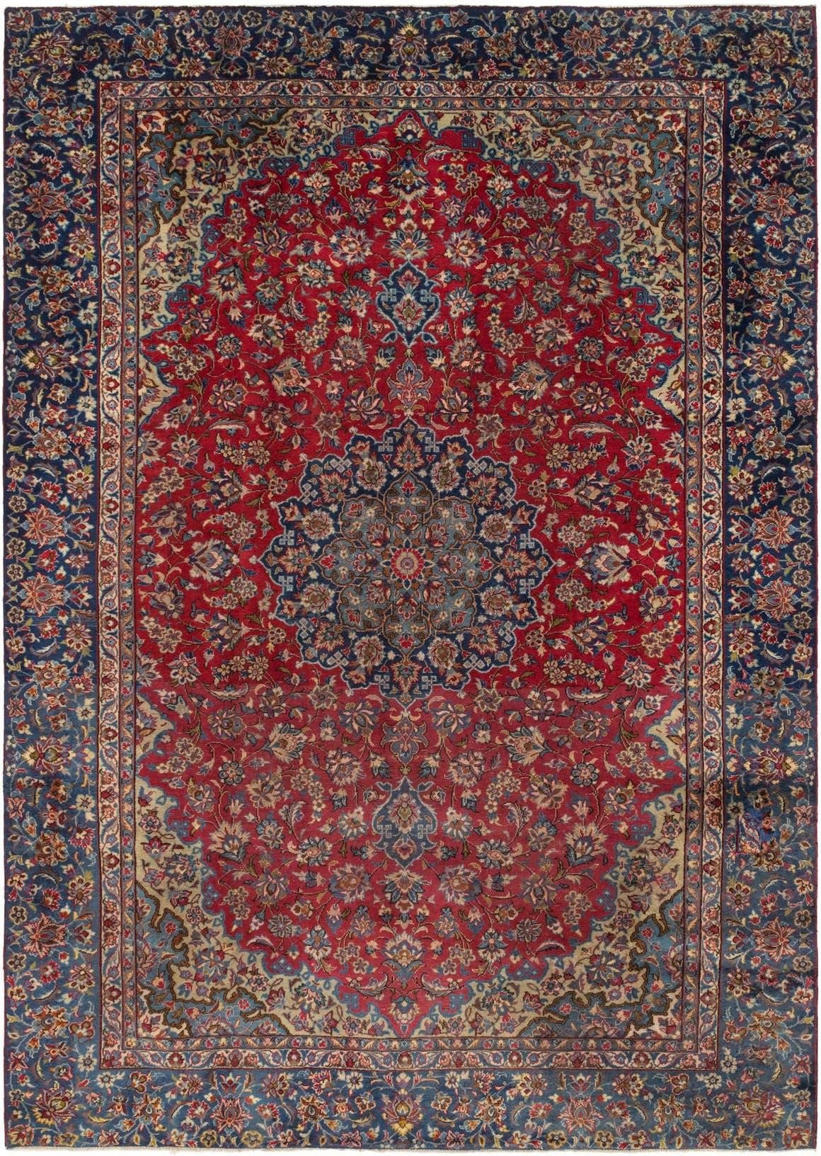 8' 10 x 12' 4 Isfahan Persian Rug main image