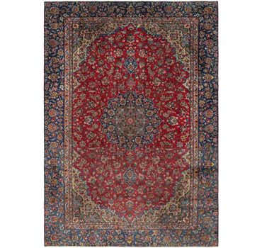 8' 10 x 12' 4 Isfahan Persian Rug