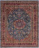 9' 4 x 12' Mashad Persian Rug thumbnail