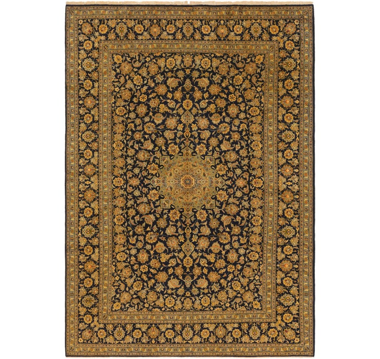 287cm x 405cm Kashan Persian Rug