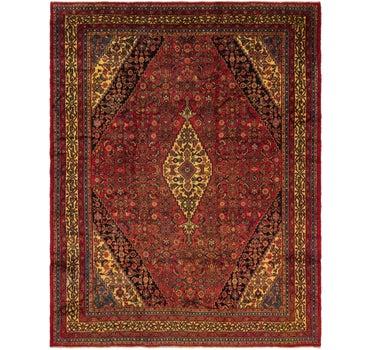 10' 6 x 13' 7 Hamedan Persian Rug main image