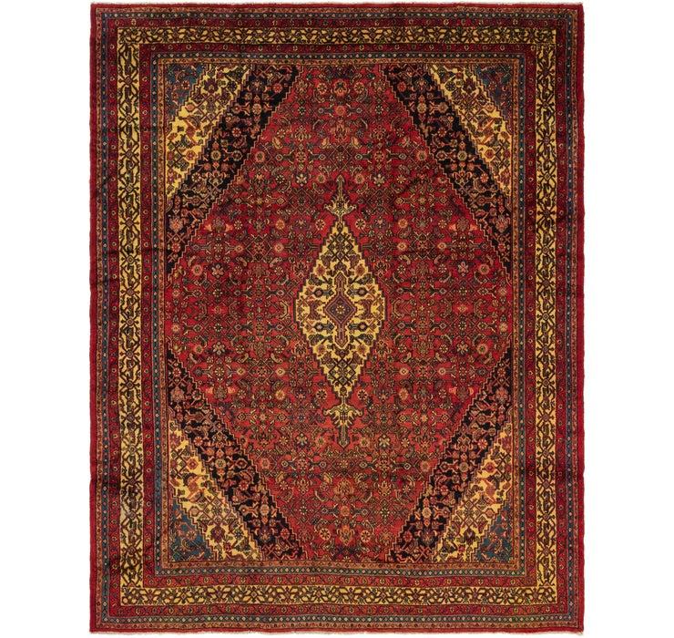 320cm x 415cm Hamedan Persian Rug