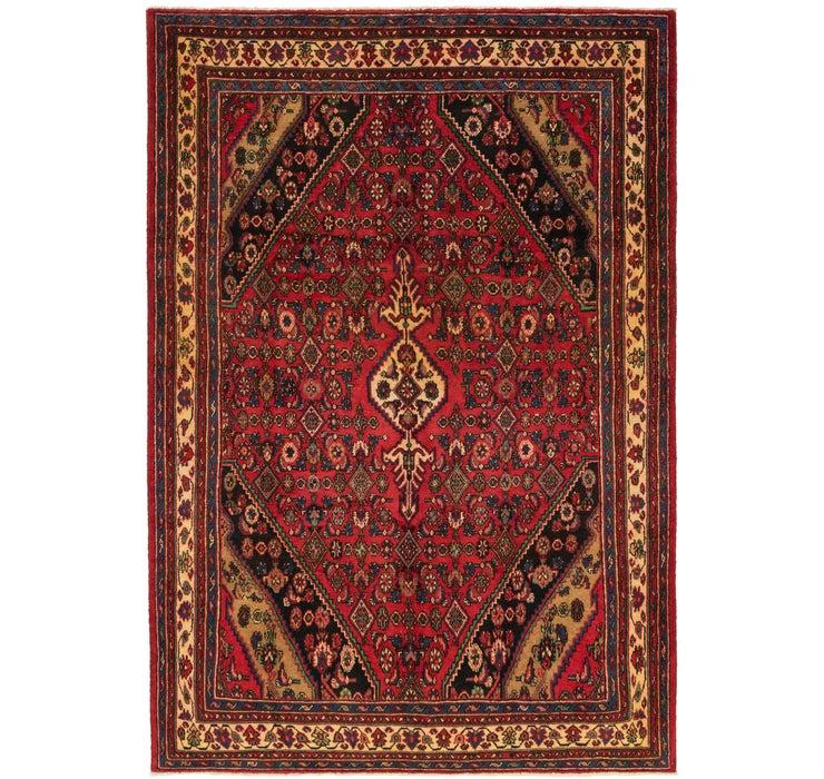 213cm x 318cm Hamedan Persian Rug