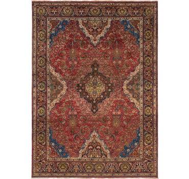 9' 9 x 13' 4 Tabriz Persian Rug main image