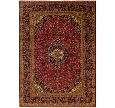 9' 9 x 13' 5 Kashan Persian Rug main image