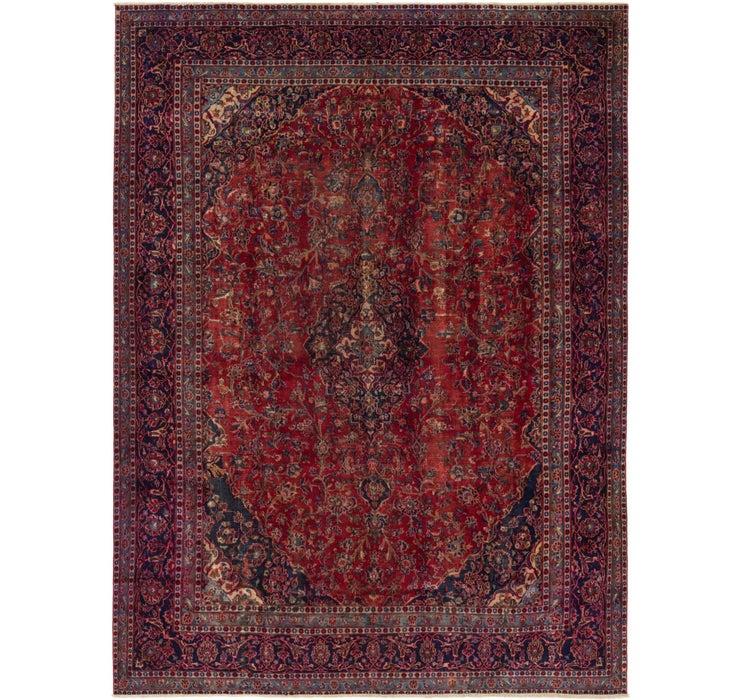 287cm x 378cm Mashad Persian Rug