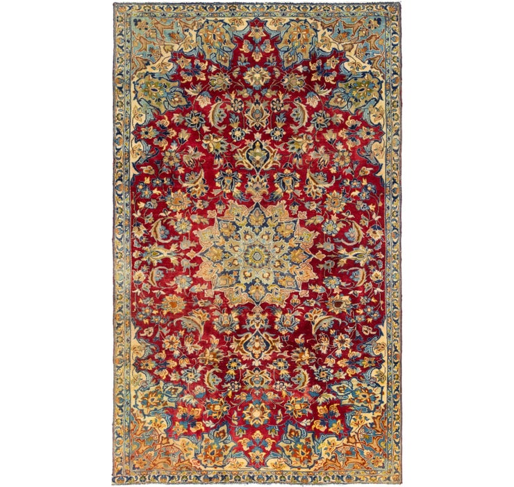 5' 8 x 9' 5 Isfahan Persian Rug
