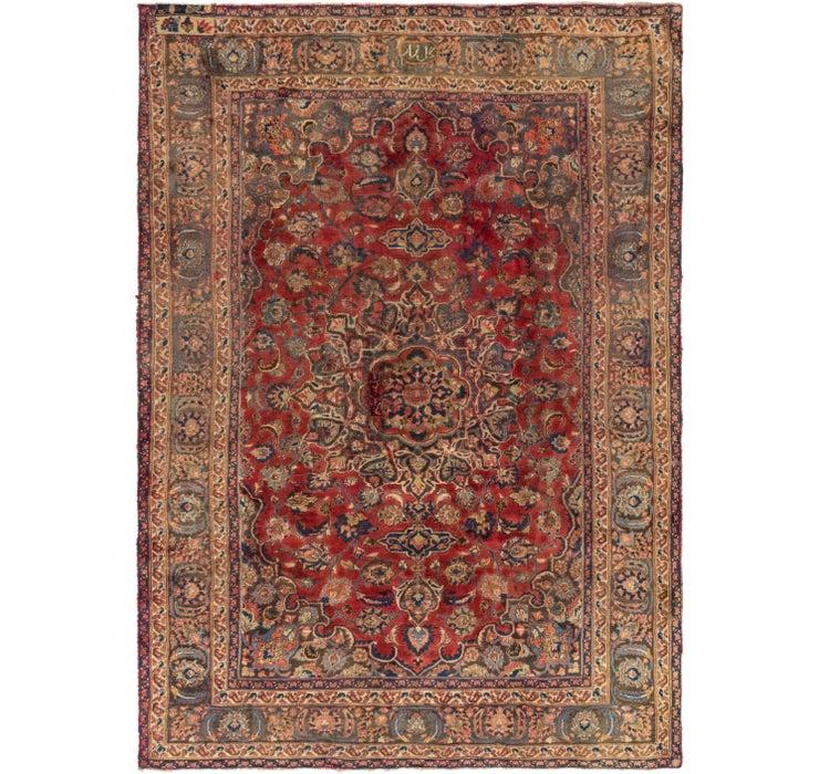188cm x 270cm Mashad Persian Rug