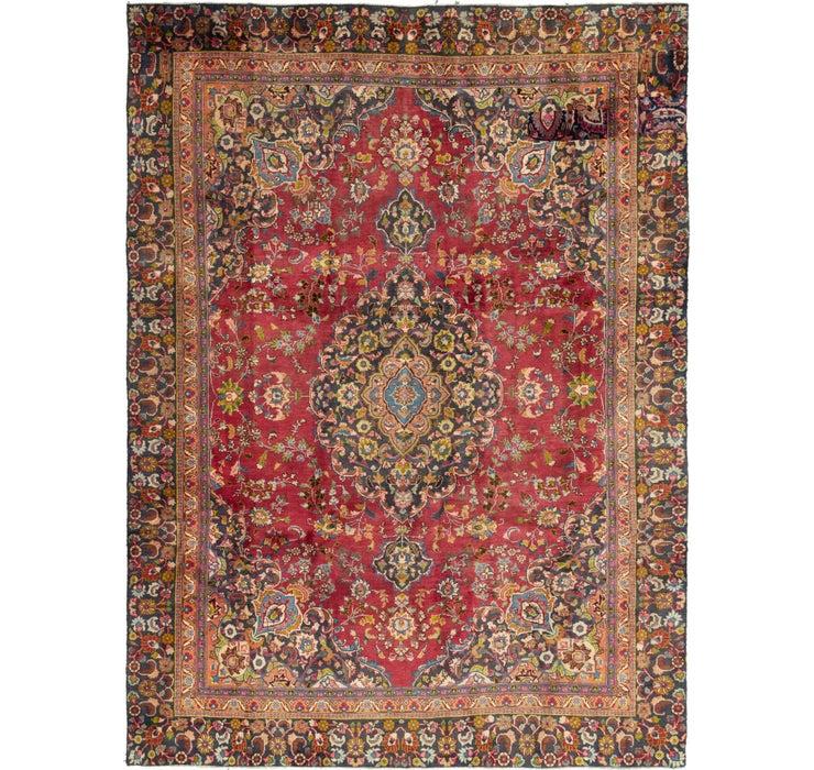 255cm x 355cm Mashad Persian Rug