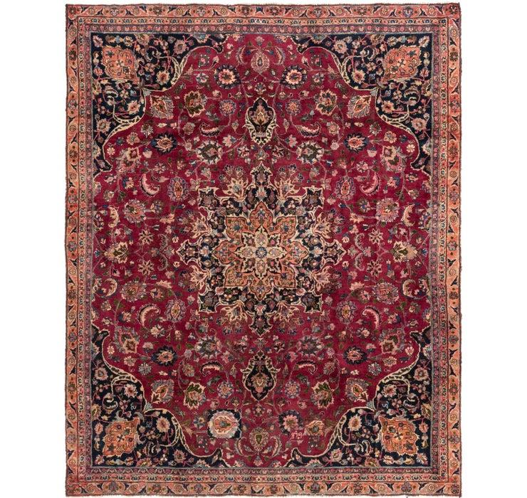 225cm x 280cm Mashad Persian Rug